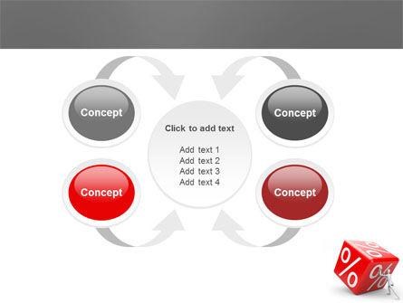 Rising Percent PowerPoint Template Slide 6