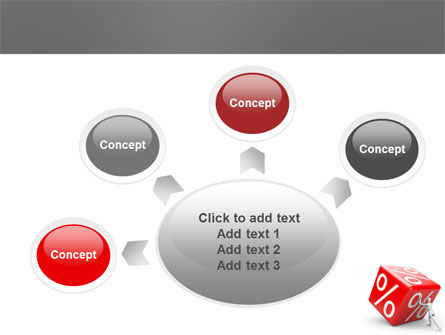 Rising Percent PowerPoint Template Slide 7