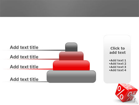 Rising Percent PowerPoint Template Slide 8
