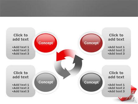 Rising Percent PowerPoint Template Slide 9