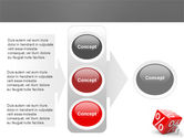 Rising Percent PowerPoint Template#11