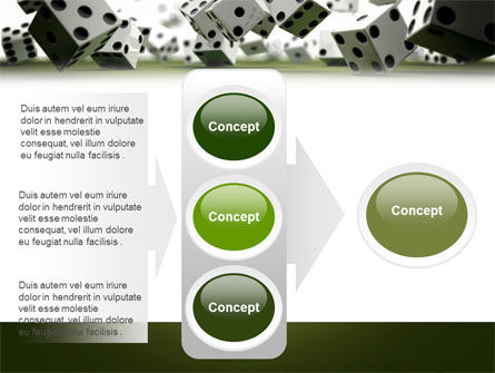 Dice In Game PowerPoint Template Slide 11