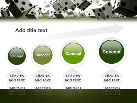 Dice In Game PowerPoint Template Slide 13