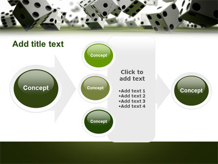Dice In Game PowerPoint Template Slide 17