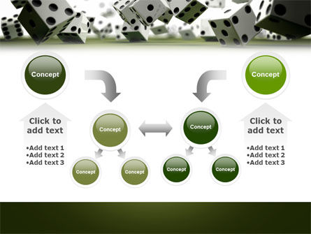 Dice In Game PowerPoint Template Slide 19
