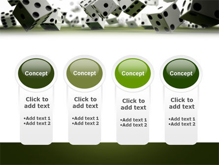 Dice In Game PowerPoint Template Slide 5