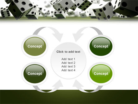 Dice In Game PowerPoint Template Slide 6