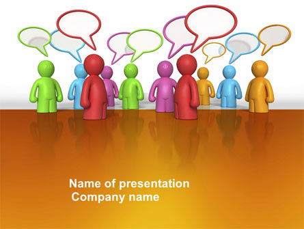 Talk PowerPoint Template