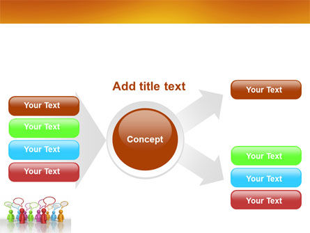 Talk PowerPoint Template Slide 14