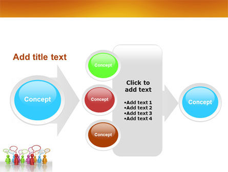 Talk PowerPoint Template Slide 17