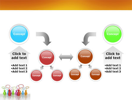 Talk PowerPoint Template Slide 19