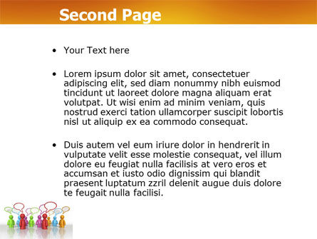 Talk PowerPoint Template Slide 2