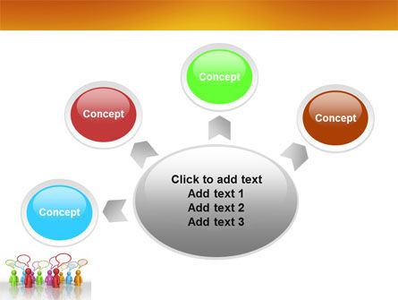Talk PowerPoint Template Slide 7