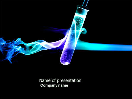 Industrial Chemistry Powerpoint Template, Backgrounds | 03927