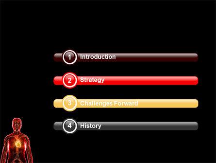 Blood Vascular System PowerPoint Template, Slide 3, 03930, Medical — PoweredTemplate.com
