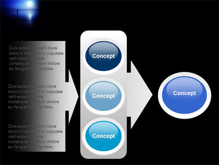 Blue Sunset PowerPoint Template Slide 11