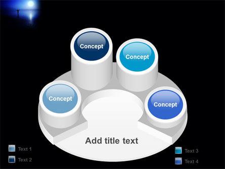 Blue Sunset PowerPoint Template Slide 12