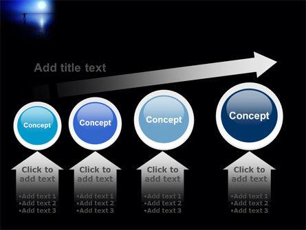 Blue Sunset PowerPoint Template Slide 13
