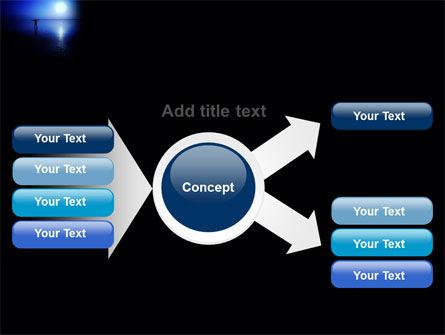 Blue Sunset PowerPoint Template Slide 14