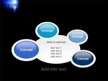 Blue Sunset PowerPoint Template Slide 16