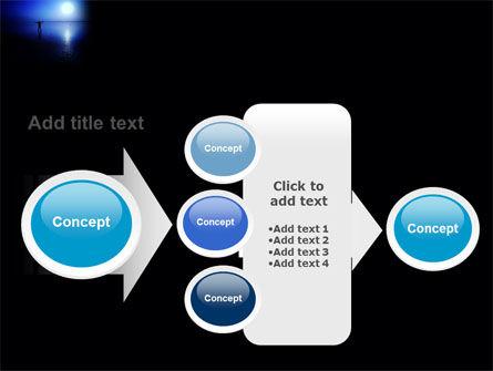 Blue Sunset PowerPoint Template Slide 17