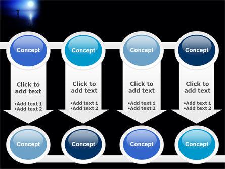 Blue Sunset PowerPoint Template Slide 18