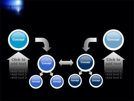 Blue Sunset PowerPoint Template Slide 19