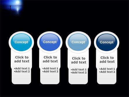 Blue Sunset PowerPoint Template Slide 5