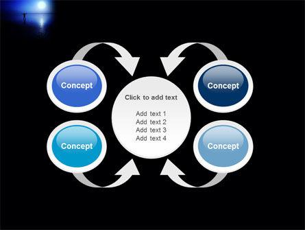 Blue Sunset PowerPoint Template Slide 6