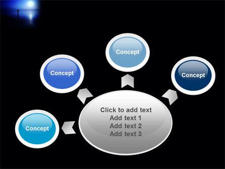 Blue Sunset PowerPoint Template Slide 7