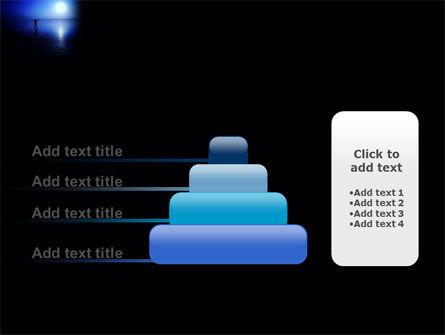 Blue Sunset PowerPoint Template Slide 8
