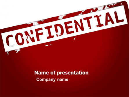 Private PowerPoint Template