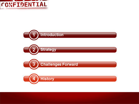 Private PowerPoint Template, Slide 3, 03935, Military — PoweredTemplate.com