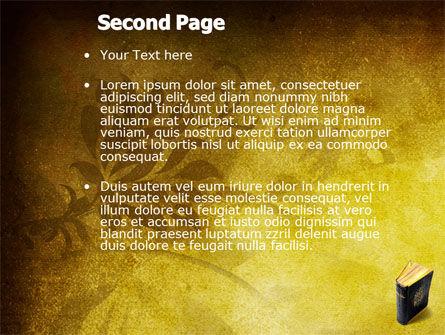 Christian Bible PowerPoint Template, Slide 2, 03936, Religious/Spiritual — PoweredTemplate.com