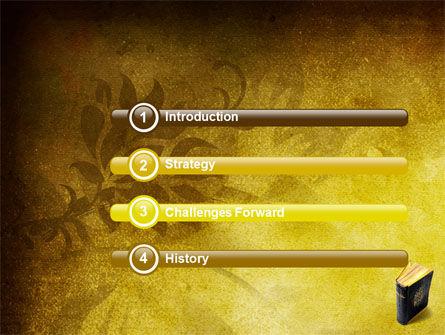 Christian Bible PowerPoint Template, Slide 3, 03936, Religious/Spiritual — PoweredTemplate.com