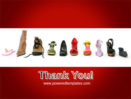 Lady's Shoes PowerPoint Template Slide 20