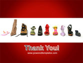 Lady's Shoes PowerPoint Template#20