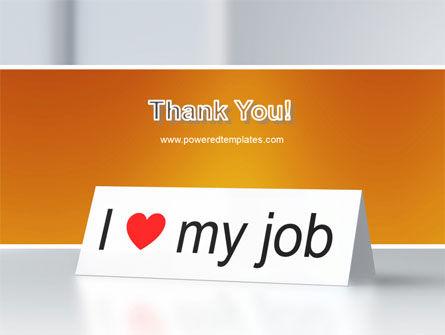 Work Motivation PowerPoint Template Slide 20