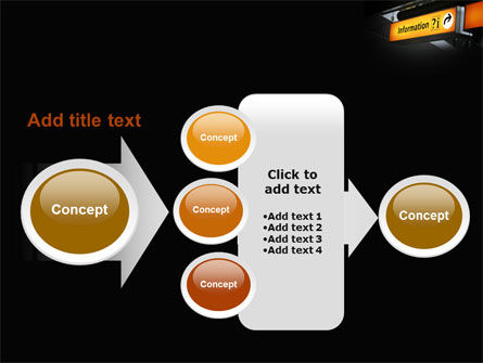 Information Bureau PowerPoint Template Slide 17