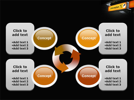 Information Bureau PowerPoint Template Slide 9