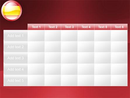 Flag of Spain PowerPoint Template Slide 15