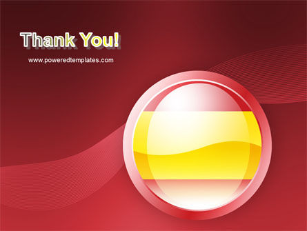 Flag of Spain PowerPoint Template Slide 20