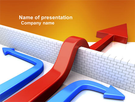 Non-standard Approach PowerPoint Template, 03948, Business Concepts — PoweredTemplate.com