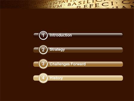 Latin PowerPoint Template Slide 3