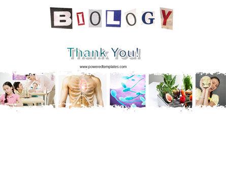 Biology Class PowerPoint Template Slide 20