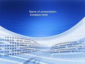Technology and Science: Plantilla de PowerPoint - tira de codificación #03955