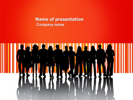 People: Sales Management PowerPoint Template #03956