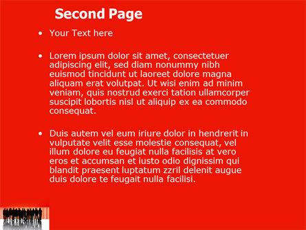 Sales Management PowerPoint Template, Slide 2, 03956, People — PoweredTemplate.com