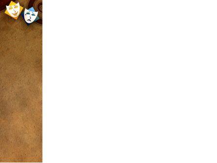 Drama PowerPoint Template, Slide 3, 03957, Art & Entertainment — PoweredTemplate.com