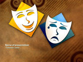 Art & Entertainment: Drama PowerPoint Template #03957